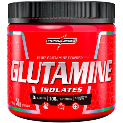 Glutamina Integralmedica Isolate Glutamine Body Size - 300g