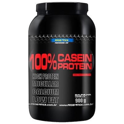 Caseina Probiótica 100% Casein Protein - 900g - Sabor Baunilha
