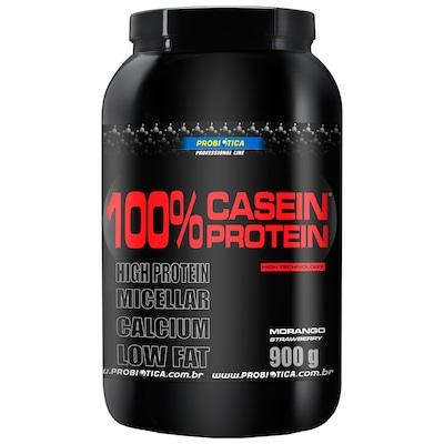Caseina Probiotica 100% Casein Protein - Morango - 900g