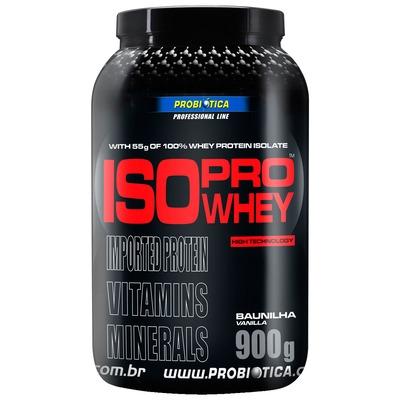 Whey Protein Isolado Probiótica Pro Whey - 900g - Sabor Baunilha