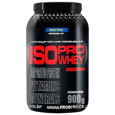Whey Protein Isolado Probiótica Iso Pro Whey - Cookies - 900g