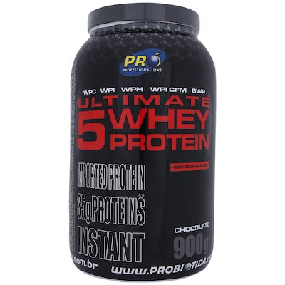 Whey Protein Probiótica Ultimate 5 - 900g - Sabor Chocolate