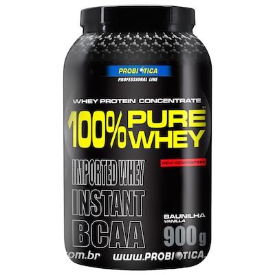 Whey Protein Probiótica 100% Pure Whey - Baunilha - 900g