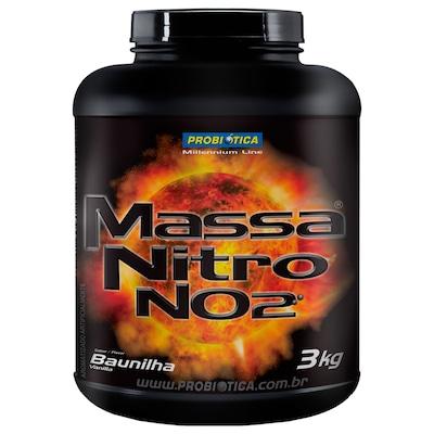 NO2 Probiótica Massa Nitro NO2 - Baunilha - 3kg