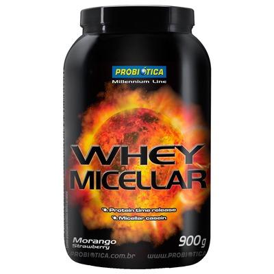 Whey Micellar - 900 g - Sabor Morango – Probiótica