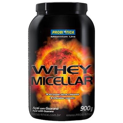Whey Micellar - 900 g - Sabor Açaí com Guaraná - Probiótica