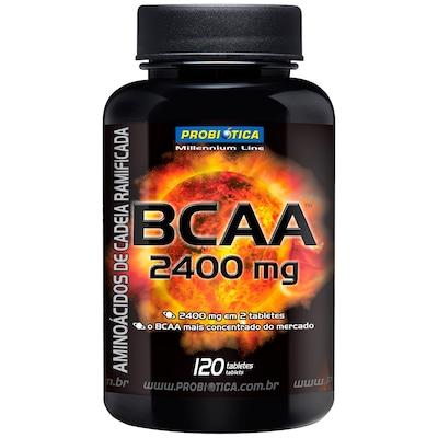 BCAA Probiótica BCAA 2400mg - 120 Tabletes