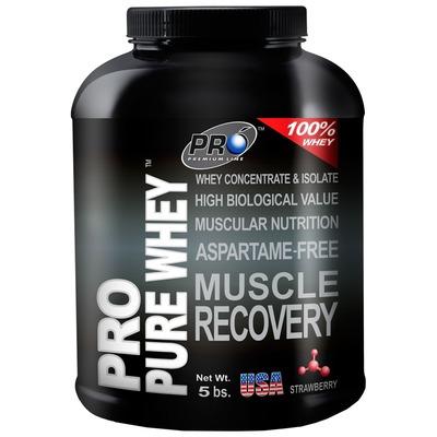 Whey Protein Probiótica Pro Pure Whey - Morango - 2,26Kg