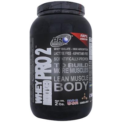 Whey Hidrolisado Probiótica Whey Pro2 Muscle Body - Cookies e Creme - 908g