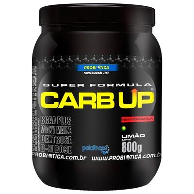 BCAA Plus Powder Carb Up – 800 g – Sabor Limão – Probiótica