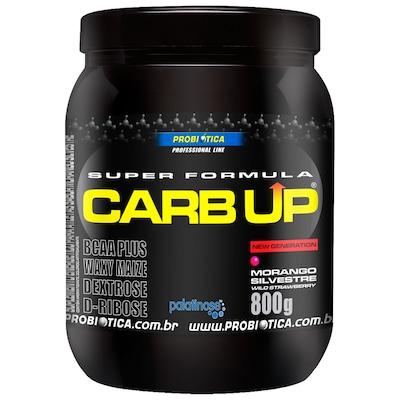 BCAA Plus Powder Carb Up – 800 g – Sabor Morango – Probiótica