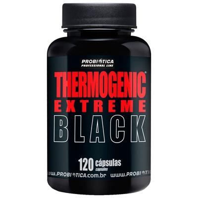 Termogênico Probiótica Thermogenic Extreme Black - 120 Cápsulas
