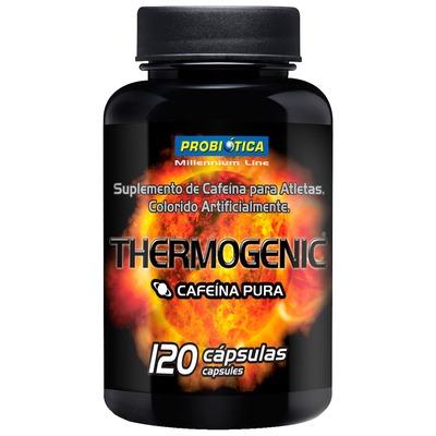 Termogênico Probiótica Thermogenic Cafeína Pura - 120 Cápsulas