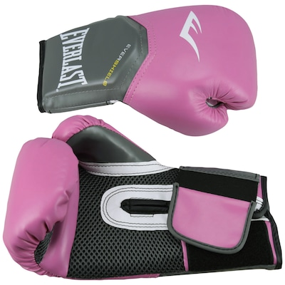 Luvas de Boxe Everlast Pro Style Elite Training 08 OZ - Feminina - Adulto