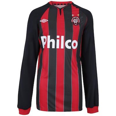 Camisa Manga Longa Umbro Atlético Paranaense I nº 8 - Masculina