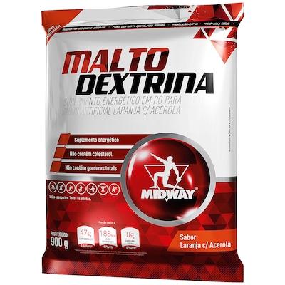 Maltodextrina - 900 g - Laranja com Acerola - Midway