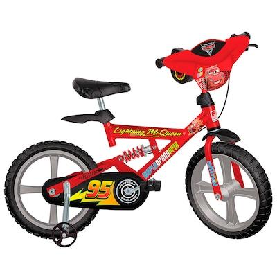Bicicleta Bandeirante X Bike Cars 2 - Aro 14 - Freio V-Brake - Infantil