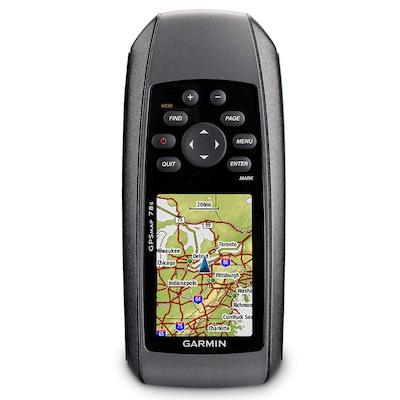 GPS Adventure Garmin GPSMAP 78S Portátil - Prova d-Água, Bússola, Antena Quad Helix e Altímetro