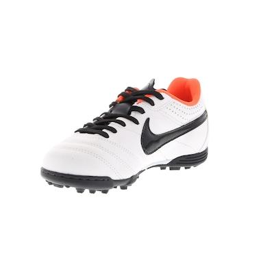 Chuteira Society Nike Tiempo IV LTR - Infantil