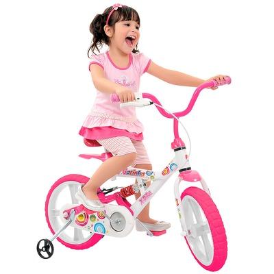 Bicicleta Bandeirante X Bike Gatinha - Aro 14 - Freio V-Brake - Feminina - Infantil