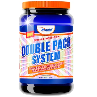 Pack Arnold Nutrition Double Pack System - 60 Packs