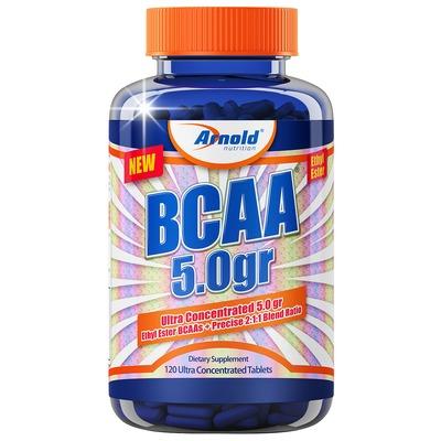 BCAA Arnold Nutrition Ultra Concentrado 5.0gr - 120 Tabletes