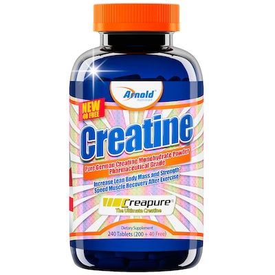 Creatina Arnold Nutrition Creatine - 240 Tabletes