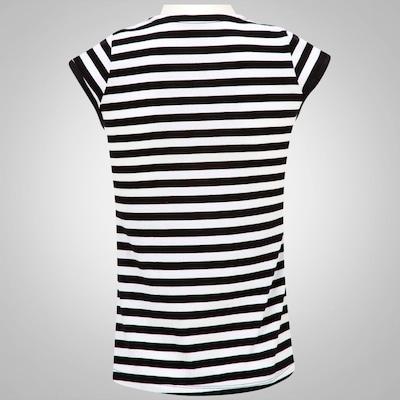 Camiseta Braziline Vasco Navy Bata - Feminina
