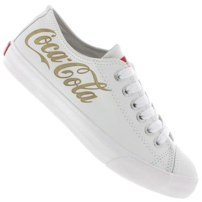 Tênis Coca-Cola Classic Basket Leather - Feminino