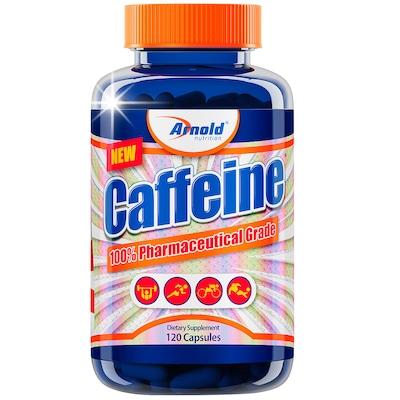 Termogênico Arnold Nutrition Caffeine - 120 Cápsulas