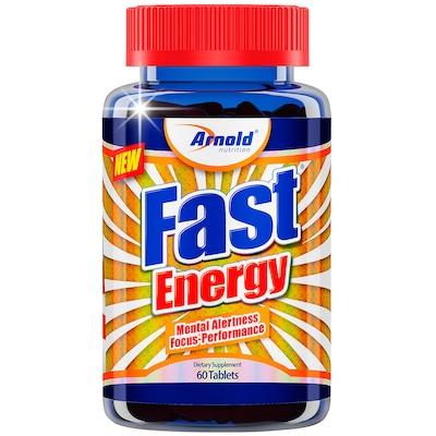 Termogênico Arnold Nutrition Fast Energy - 60 Tabletes