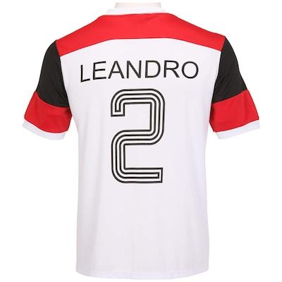 Camiseta Braziline Flamengo Retro Leandro - Masculina