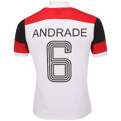 Camiseta Braziline Flamengo Retrô Andrade - Masculina