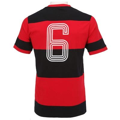 Camiseta Braziline Flamengo Libertadores 81 nº 6 - Masculina