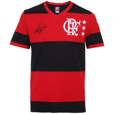 Camiseta Braziline Flamengo Libertadores 81 nº 8 - Masculina