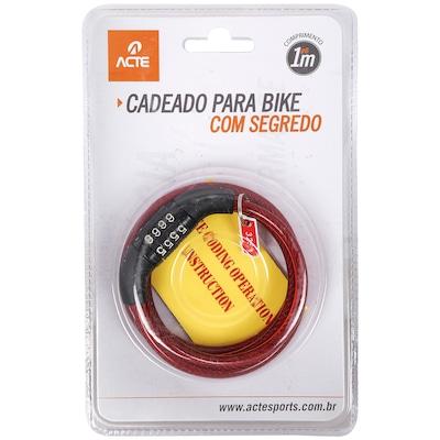 Cadeado para Bicicleta com Segredo Acte Sports A21