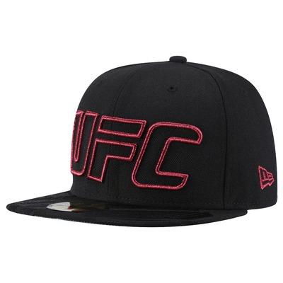 Boné Aba Reta UFC Outline - Fechado - Adulto