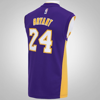 Camiseta Regata adidas NBA Lakers Road Bryant - Masculina