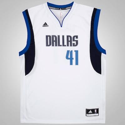 Camiseta Regata adidas NBA Mavericks Road - Masculina