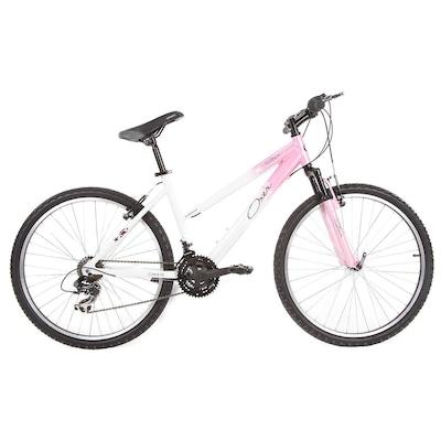 Bicicleta Oxer Star - Aro 26 - Freio V-Brake - Câmbio Traseiro Shimano - 21 Marchas - Feminina
