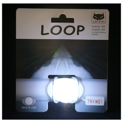 Pisca Cateye Light SL-LD 110 Loop White