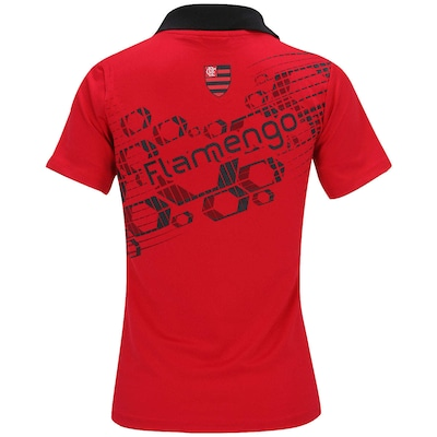 Camisa Polo Braziline Flamengo Kalos - Feminina