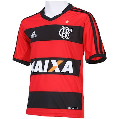 Camisa adidas Flamengo I 2013 - Infantil