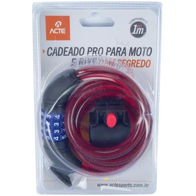 Cadeado para Bicicleta com Segredo Acte Sports Pro A20