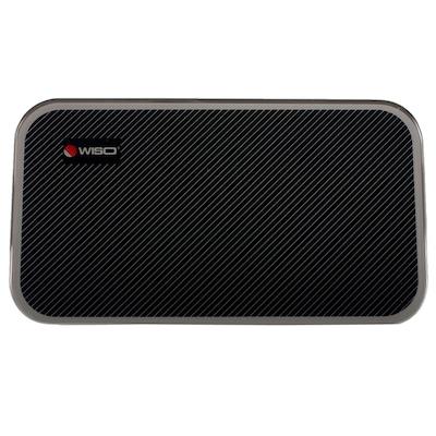 Balança Digital Ultra Portátil - Vidro Preto Laminado - 150 Kg - W602 – WISO