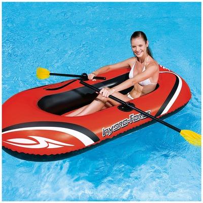 Bote Inflável com 1 Par de Remos Bestway Hydro Force