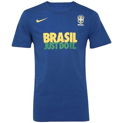 Camiseta Nike Brasil CBF Core  - Masculina