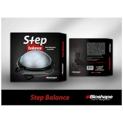 Bosu 56cm com Alças Bioshape Step Balance