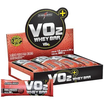 Barra de Proteina Integralmedica VO2 Protein Bar - 12 Unidades - Sabor Chocolate