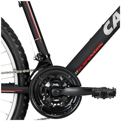 Bicicleta Caloi Aluminium Sport - Aro 26 - Freio V-Brake - Câmbio Traseiro Caloi - 21 Marchas